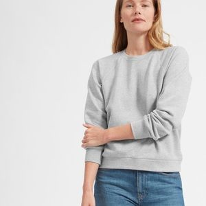 Everlane The Slim Classic French Terry Crew